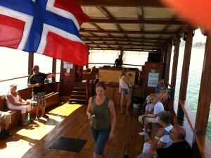 I båt på den Galileiske sjø