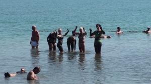 Bading i Dødehavet